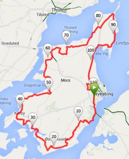 Mors Rundt 2015 Morso Cykelklub